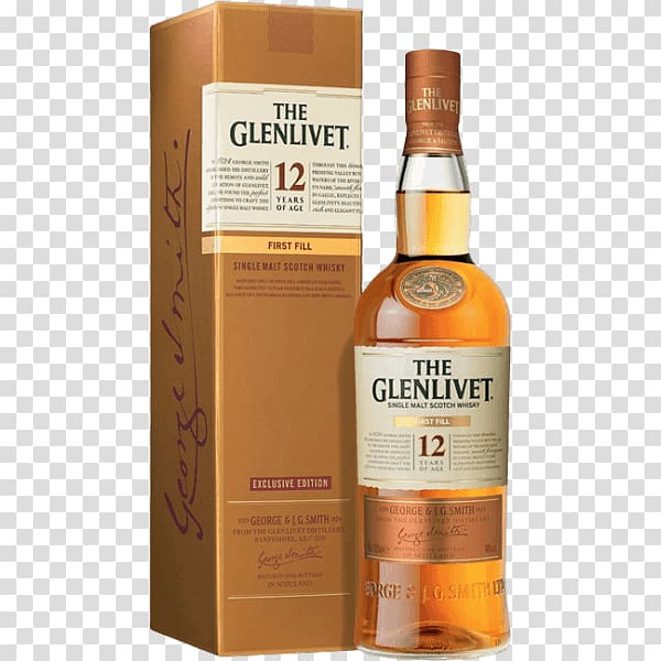 The Glenlivet distillery Single malt whisky Whiskey Scotch.