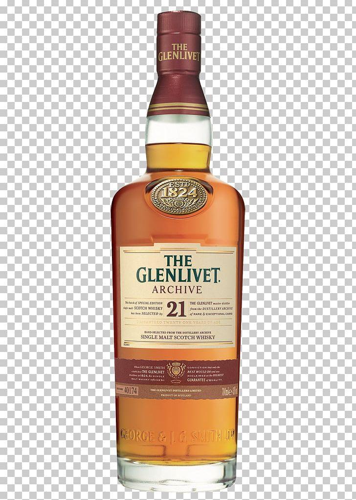 The Glenlivet Distillery Scotch Whisky Single Malt Whisky.
