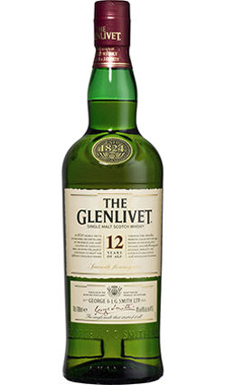 The Glenlivet 12 Year Old 70cl, 40% ABV.