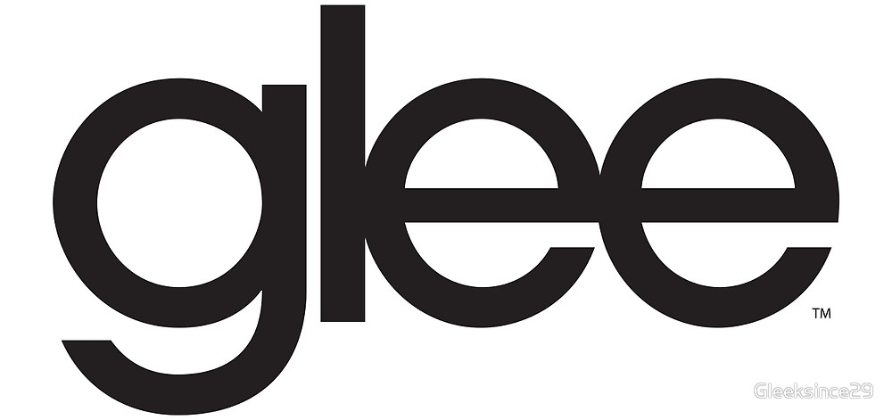 Glee Logo Black\