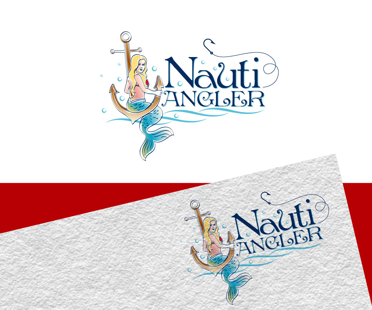 Elegant, Traditional Logo Design for NAUTI ANGLER by Jay.