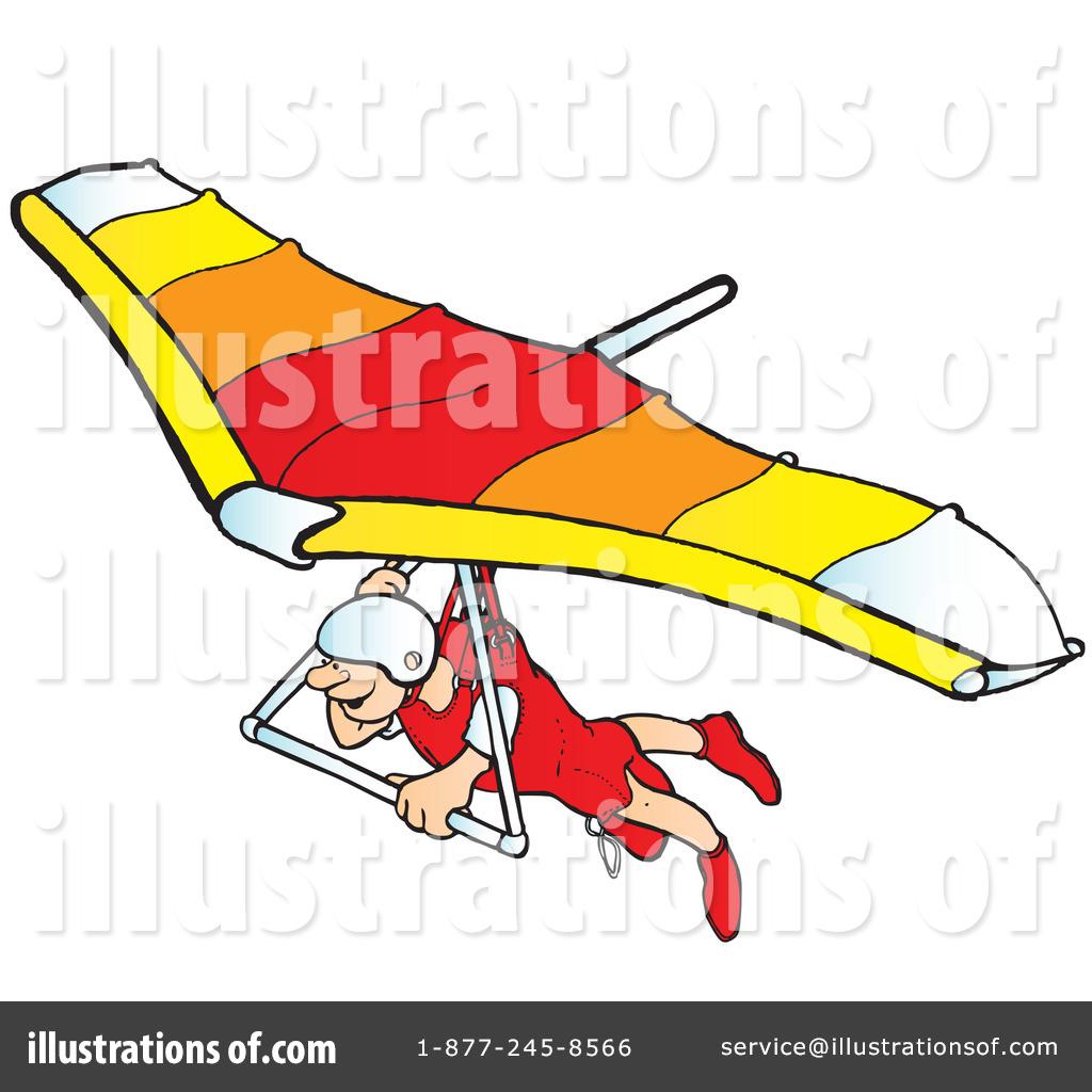 Hang Gliding Clipart #41911.