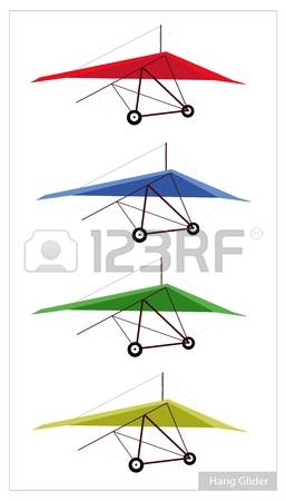 Hang Glider Pilot Stock Illustrations, Cliparts And Royalty Free.