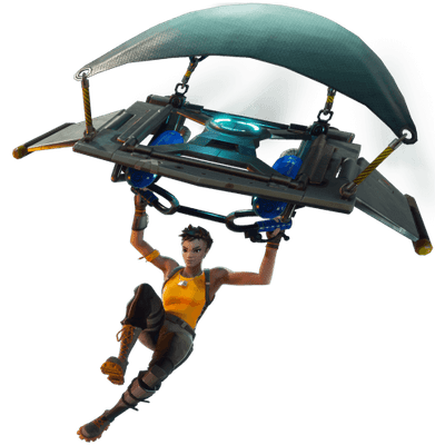 Fortnite Glider transparent PNG.