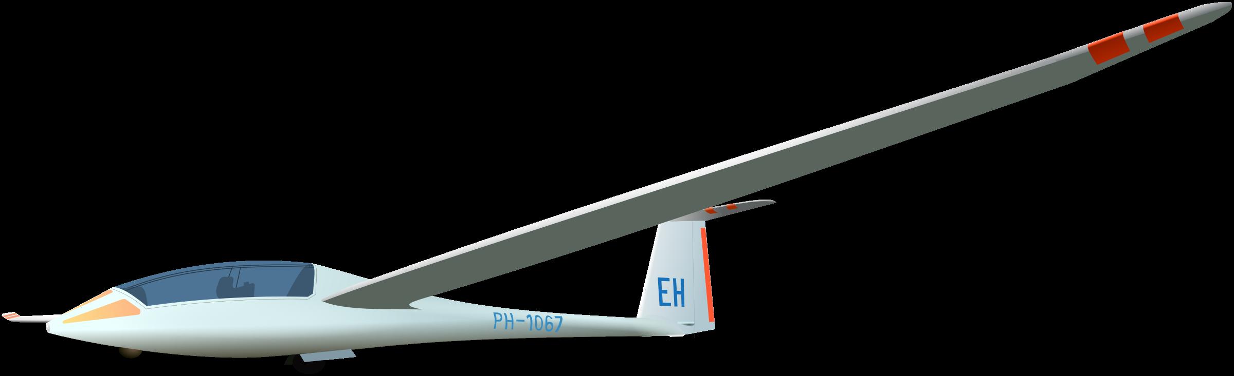Glider PNG File.
