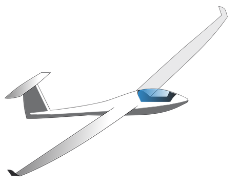 Glider PNG High Quality Image.