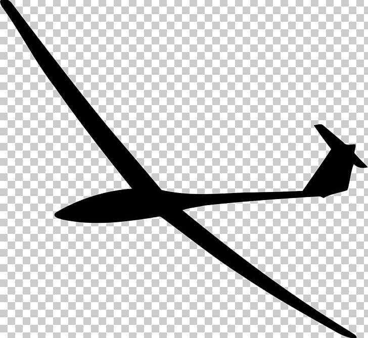 Airplane Glider Silhouette Gliding PNG, Clipart, Aircraft, Airplane.