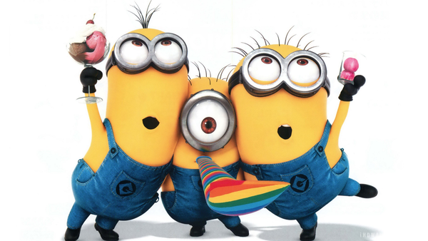 minions happy birthday clipart #10