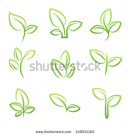 Eco Plant Stock Photos, Royalty.