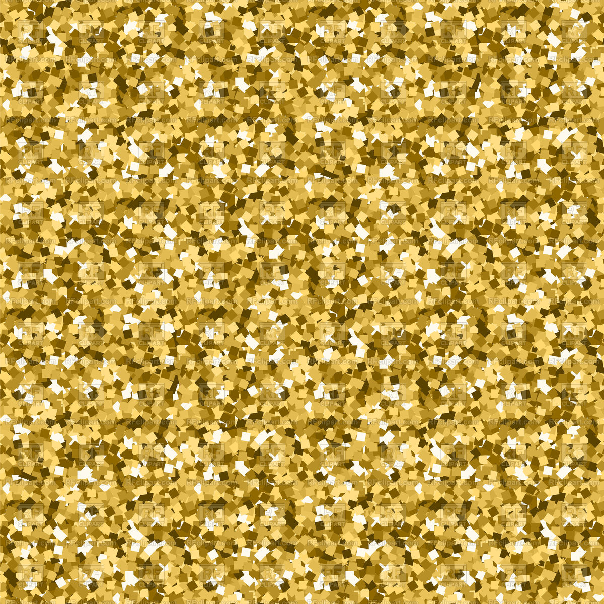 Gold Glitter Particle Background Stock Vector Image.