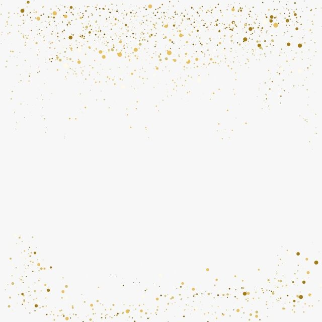 Gold Glitter Background Border PNG, Glitter, Gold, Golden PNG and.