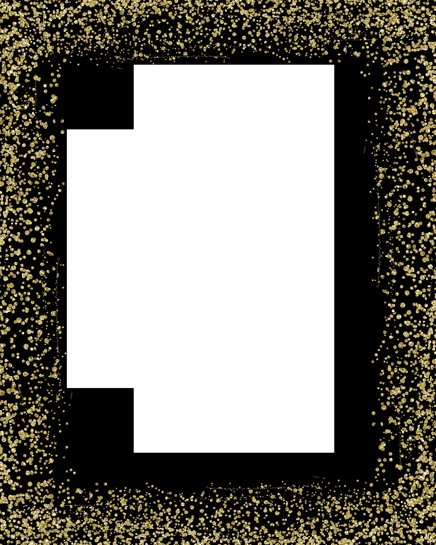 Gold Glitter MIME.