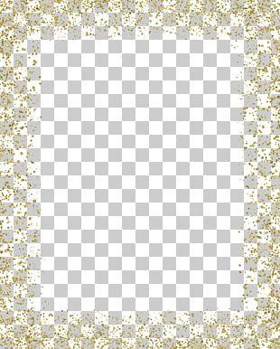 Gold Glitter Border PNG Images, Gold Glitter Border Clipart Free.