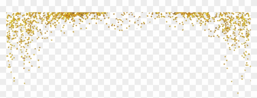 Ftestickers Glitter Gold Border.