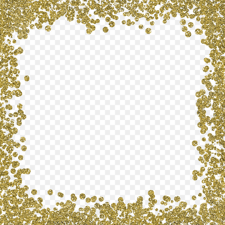 Free Gold Glitter Border Transparent, Download Free Clip Art.