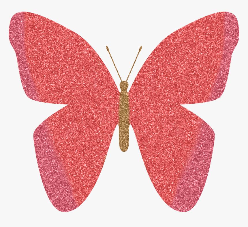 Free Glitter Butterfly Clipart.
