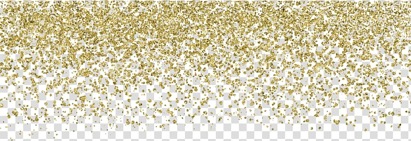 Wedding invitation Confetti Paper Glitter Gold, Gold powder.