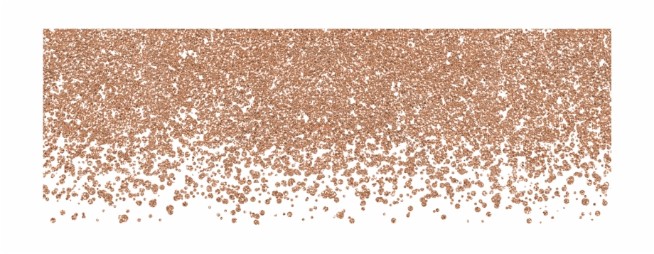 Dots Png Rose Gold Glitter Png.