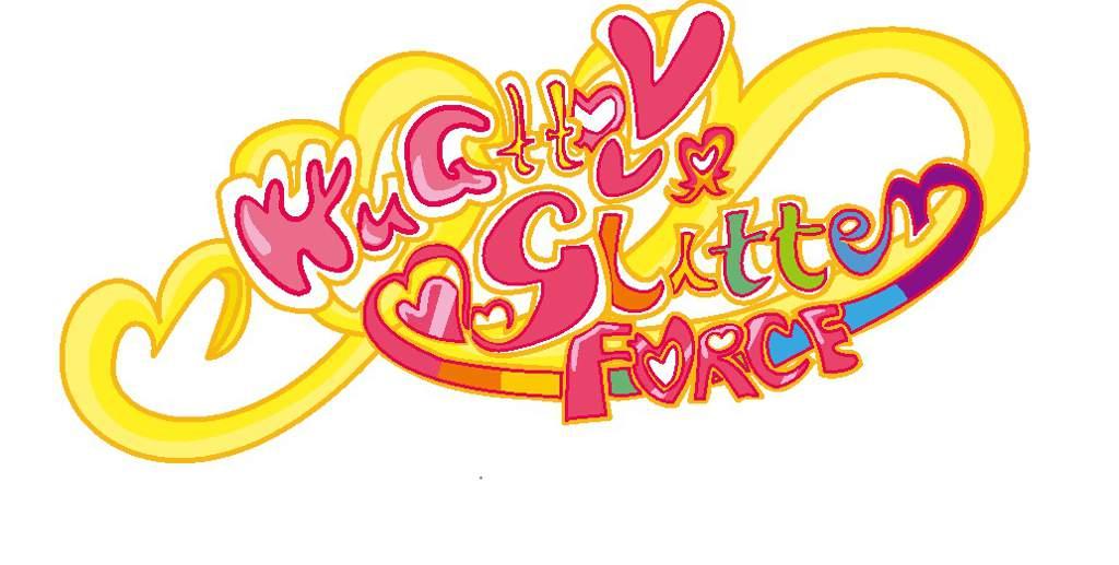 Hugtto! Glitter Force Logo.
