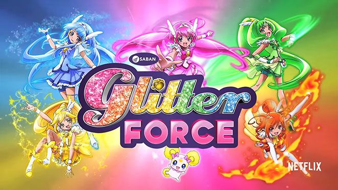 Glitter Force. Such a great show <3 #GlitterForce.