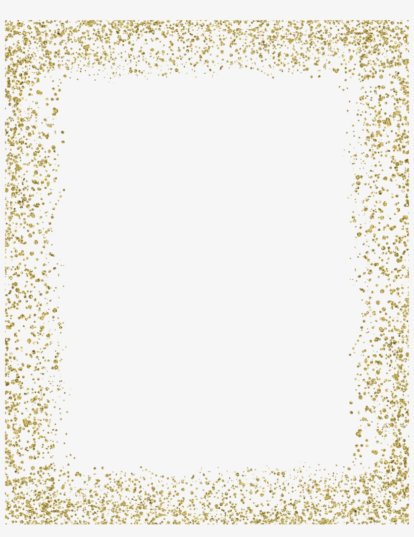 Gold Glitter Frame PNG & Download Transparent Gold Glitter Frame PNG.