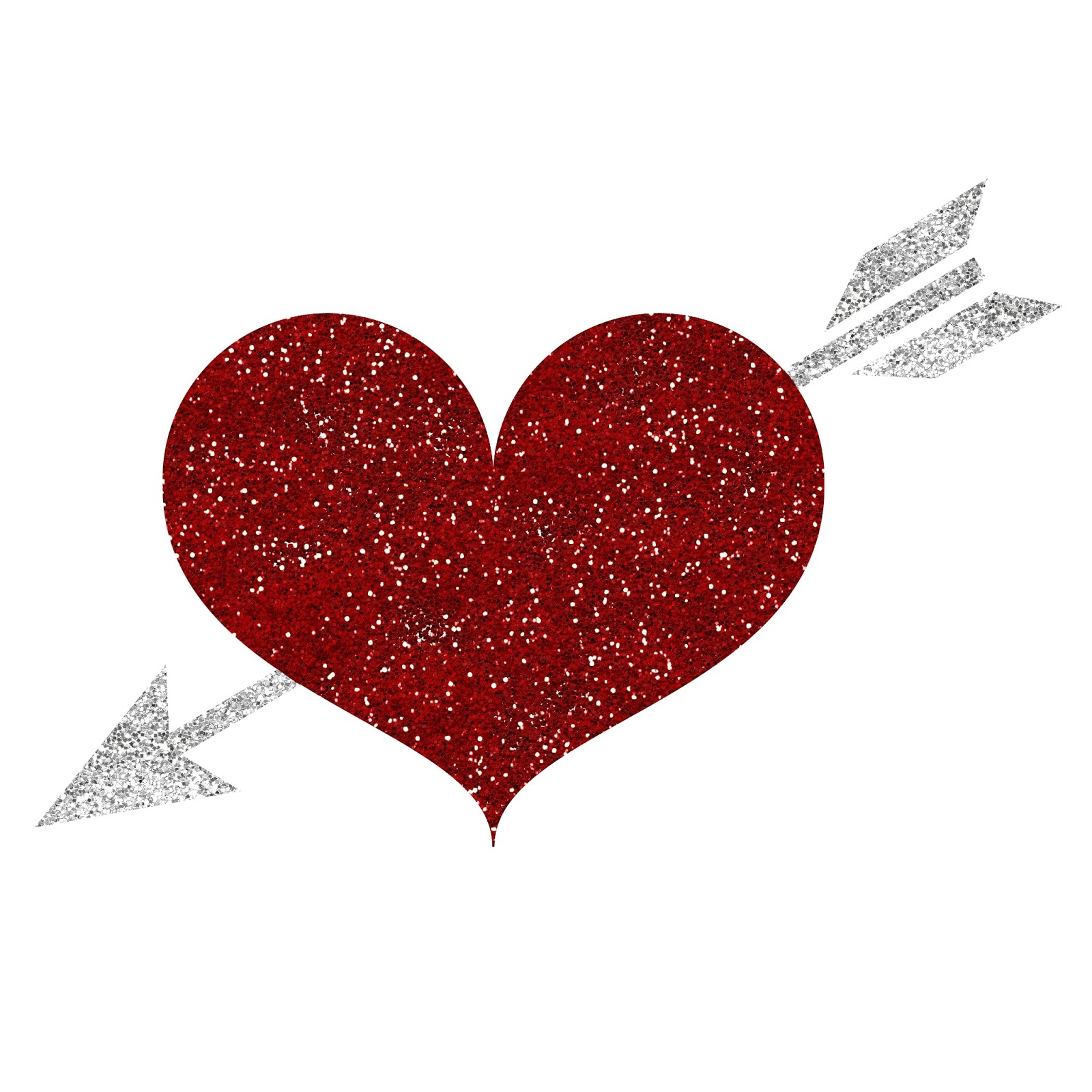 Free Sparkly Heart Cliparts, Download Free Clip Art, Free Clip Art.