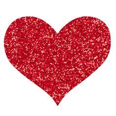 Glitter heart clipart 5 » Clipart Station.