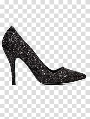 Unpaired gray stiletto, High.