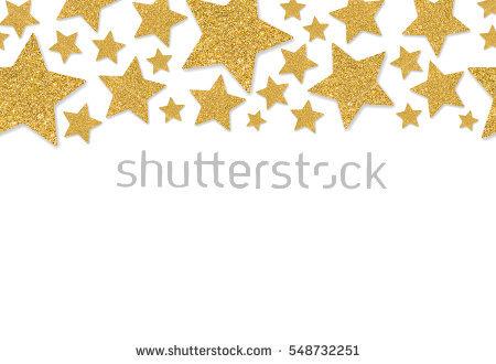 Gold Sequins Golden Shine Powder Yellow Stock Photo 418906192.