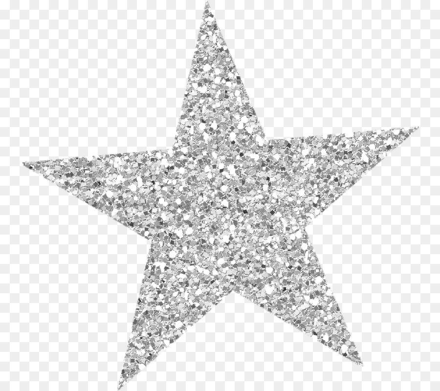 Glitter Star clipart.