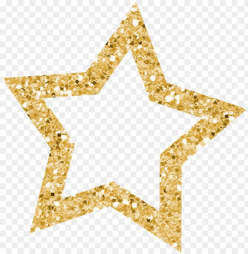 stᗩrs ‿✿⁀○ glitter stars, gold glitter, star.