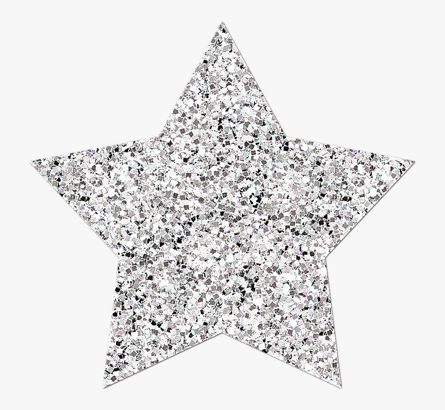 Transparent Glitter Stars Png.