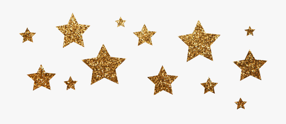 gold #stars #star #golden #glitter #glittery.