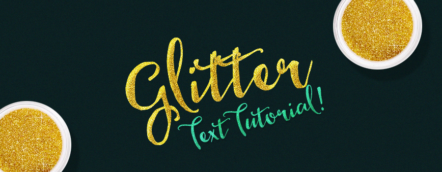 Learn How to Create a Gold Glitter Text Effect in Photoshop.