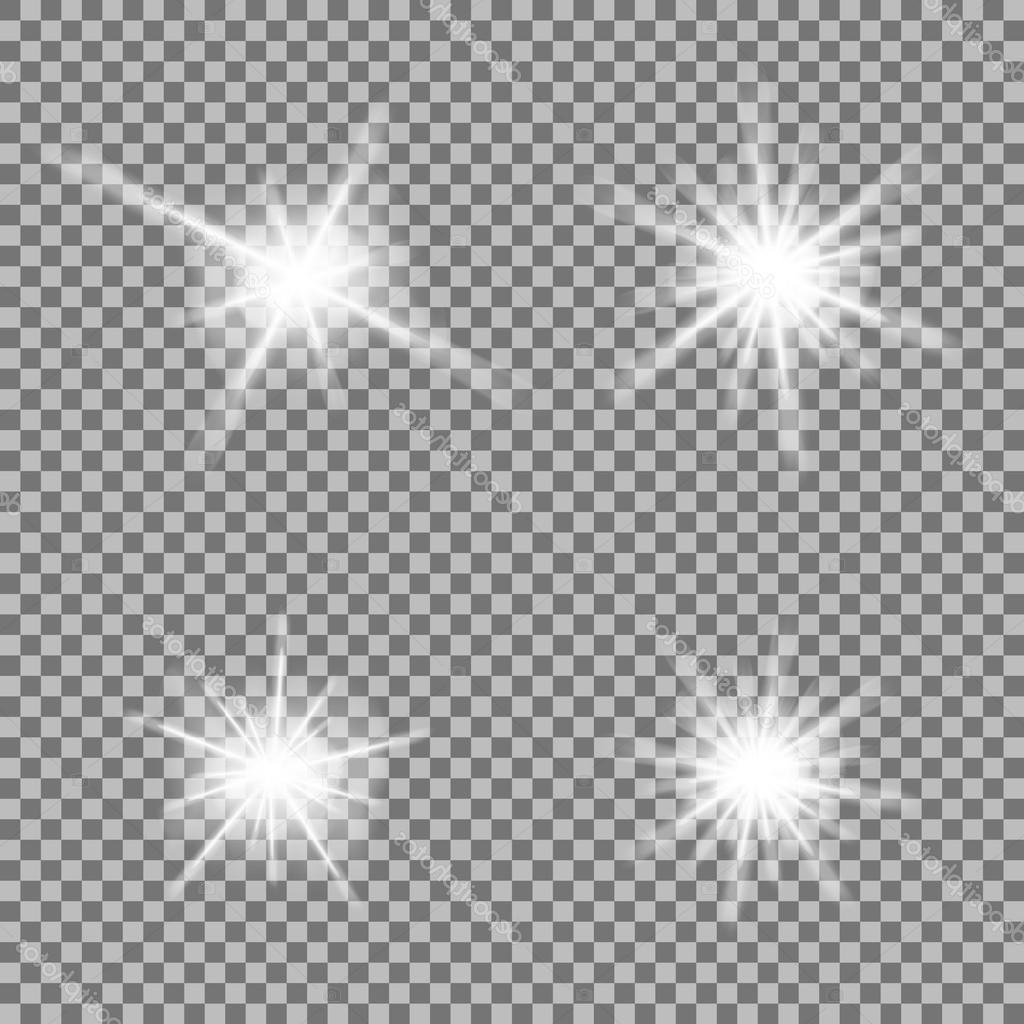 Best Free Transparent Sparkles Vector Image » Free Vector.