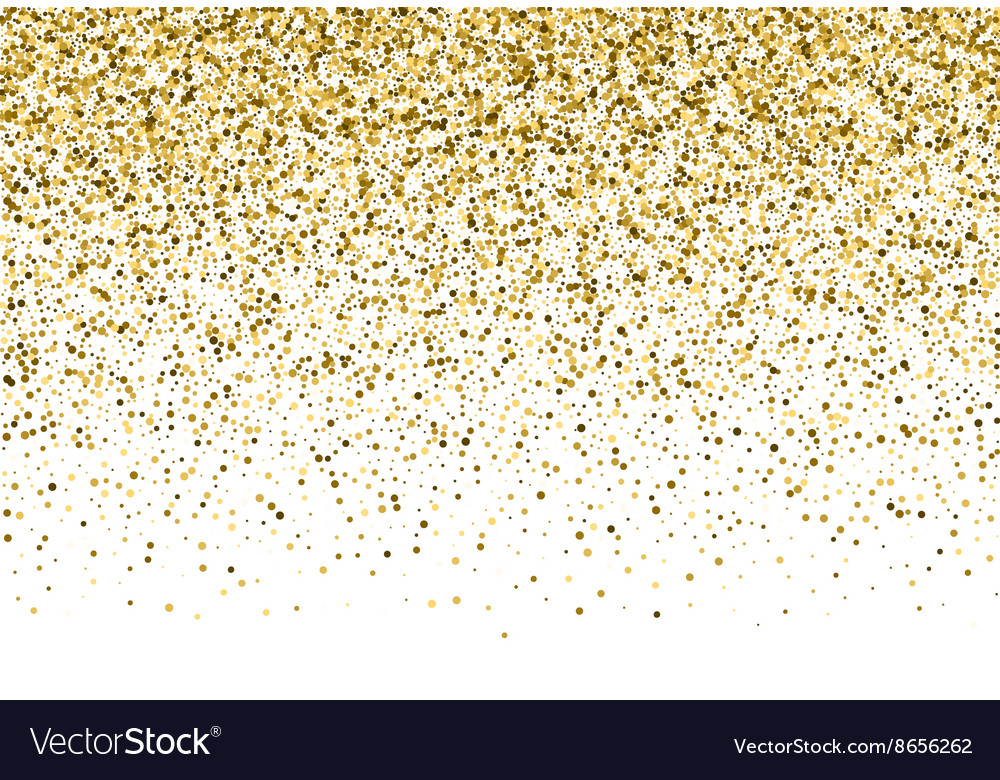 Background with gold glitter.