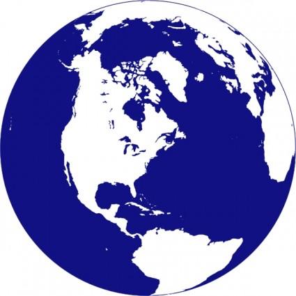 Animated globe clip art 3.