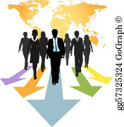 Global Business Clip Art.