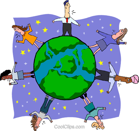 business global economy Royalty Free Vector Clip Art.