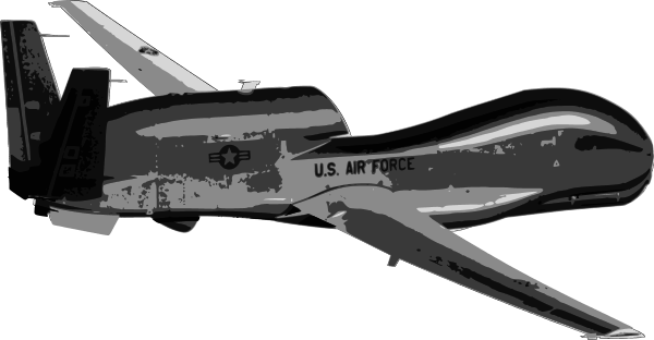 Global Hawk UAV Drone.
