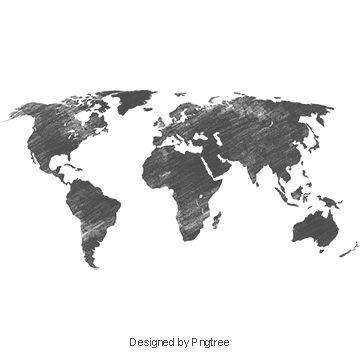 World Map PNG Images.