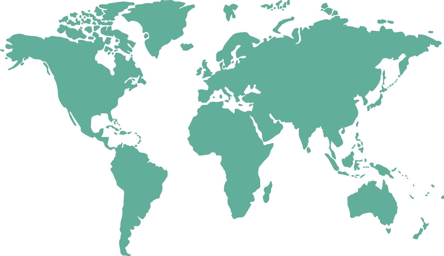 Globe World map.