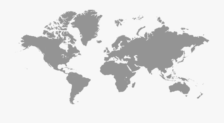 World Map Free Png Image.