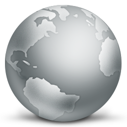 Globe Global Internet Earth World / iVista 2 / 128px / Icon Gallery.