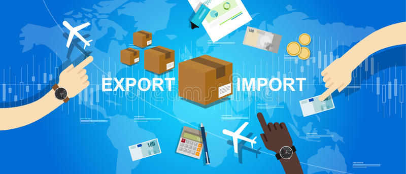Global Trade Stock Illustrations.