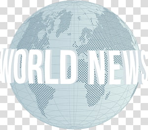 Multicolored world news illustration, Information Journalist.