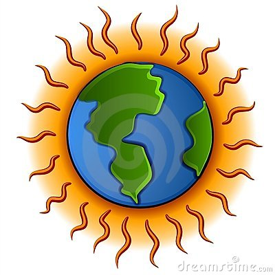 Global Warming Earth Cartoon Clipart Stock Photos, Images.