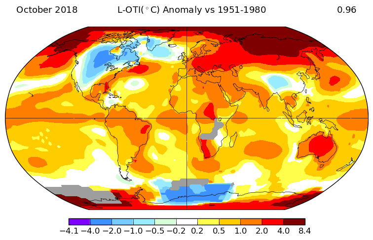 Baby, it's cold outside — but global warming has not taken a.