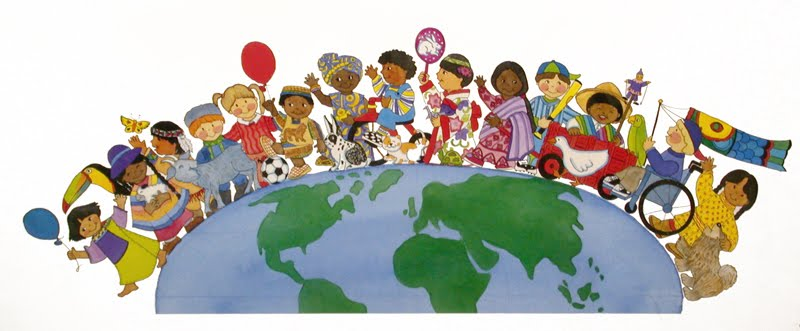 World Globalization Clip Art.