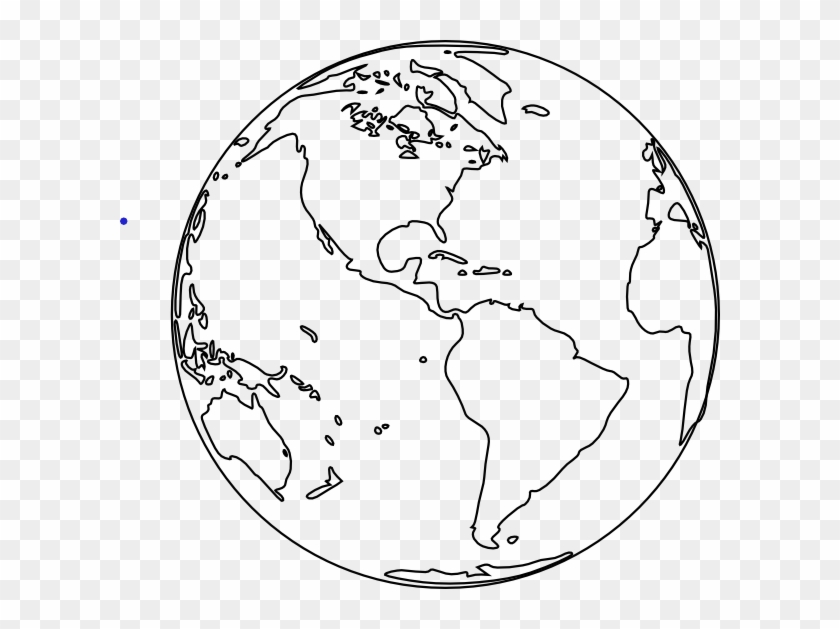 Free Globe Clipart Black And White Image 5 Clip Png.